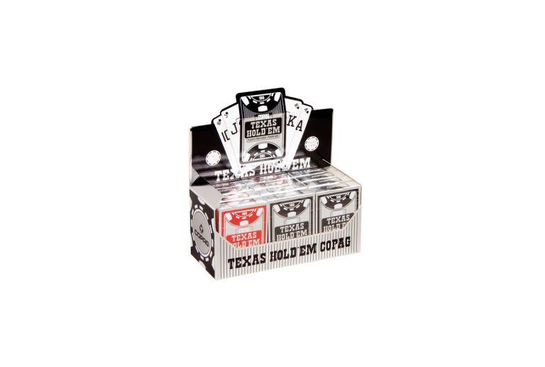 Copag Texas Hold'em Silver Poker cards Display