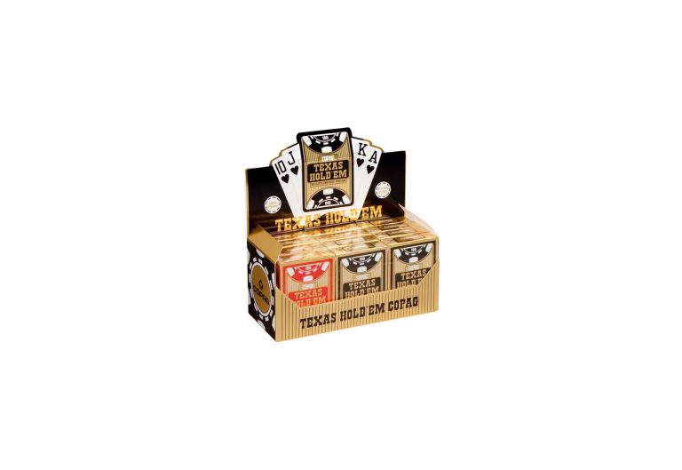 Display Copag Texas Hold'em Gold poker games