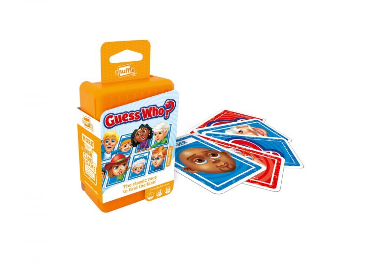 Guess Who Shuffle Card Games by Cartamundi