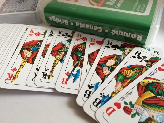 Close up Ass Altenburger Spielkarten Romme Canasta Game