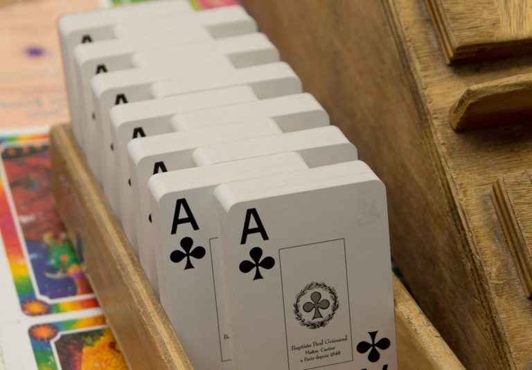 Grimaud Playing Cards Manually Made at France Cartes