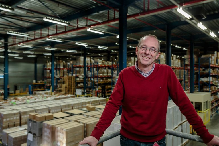 Peter Donies Logistics Manager Cartamundi Warehouse