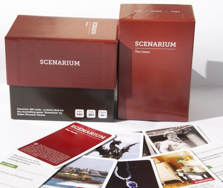 Scenarium Party Card Game made by Cartamundi