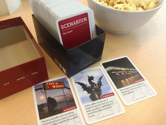 Scenarium storytelling party game