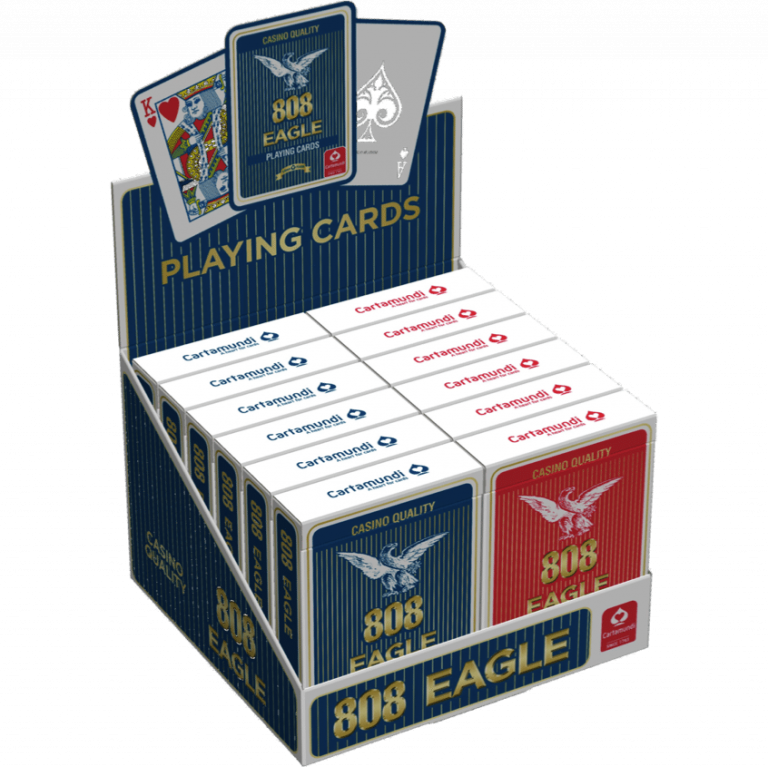 Eagle Playing Cards Full Display