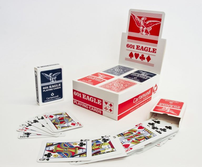 display 601 Eagle playing cards Cartamundi singapore