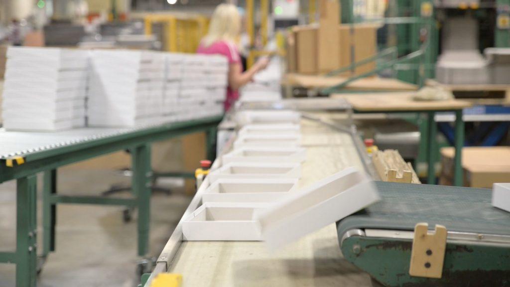 Board game packaging production at Cartamundi Ireland