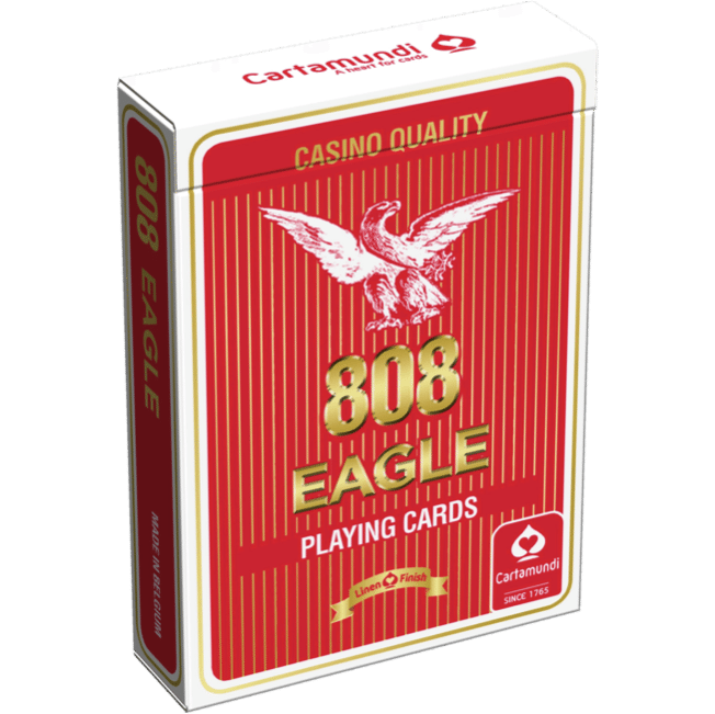 Eagle Playing Cards Red