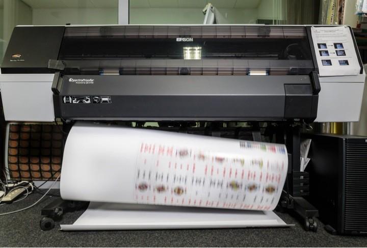 Proof Printing at Prepress Department Cartamundi