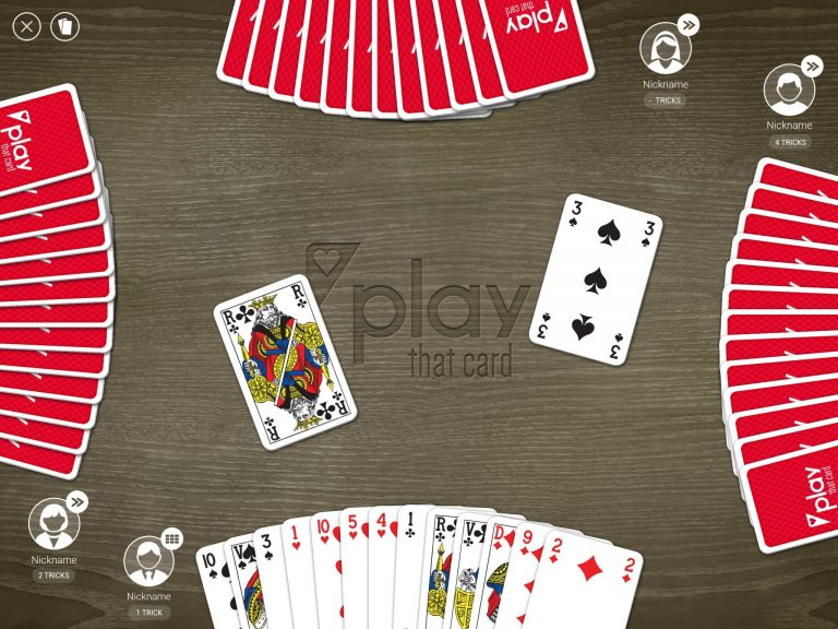 Screenshot Card Game Application Play That Card