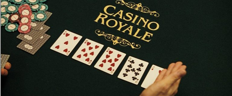 Scene from Casino Royale James Bond Cartamundi Poker Cards