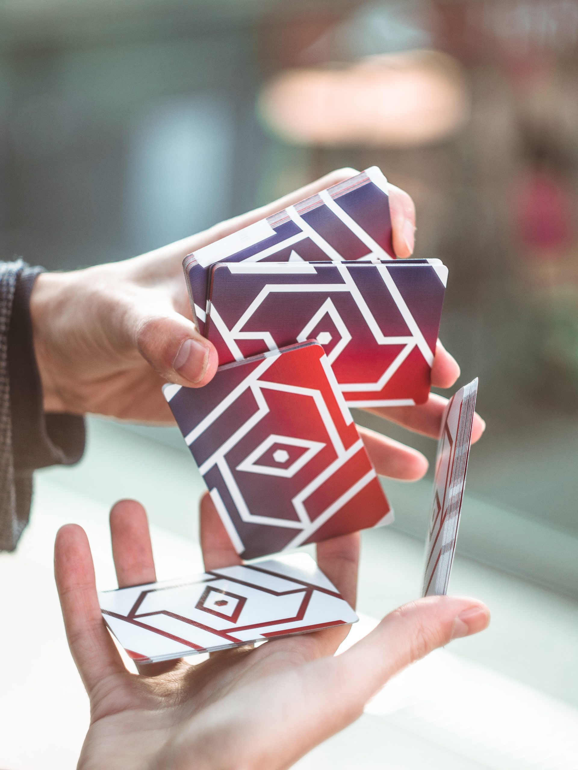 COPAG 310 ALPHA – developed for cardistry