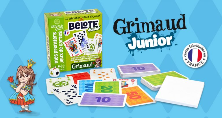 Grimaud Junior Jeu de Belote