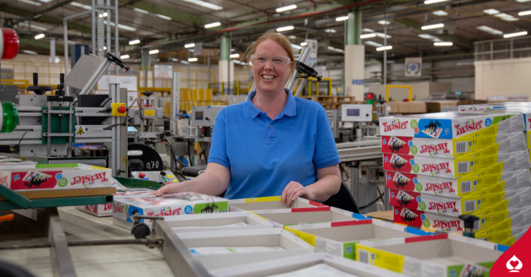 woman in games factory twister